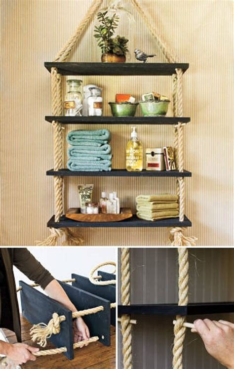 cool diy home decor 17 easy diy shelving ideas cool homemade organization