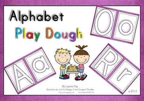 play dough mats alphabet sensory and motor