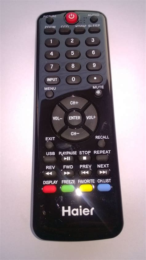Remot Remote Tv Lcd Led Sanyo Haier haier led lcd tv remote htr d09b in remote controls from consumer electronics on