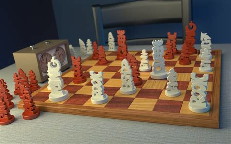 interesting chess sets unique chess set by joshmaule on deviantart