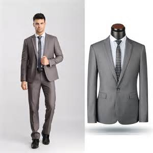Men suit formal dress slim fit blazer business work wear suits for men