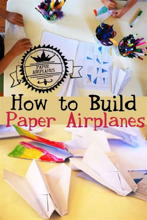 How To Make Different Paper Airplanes - how to make paper airplanes that go far my boys make