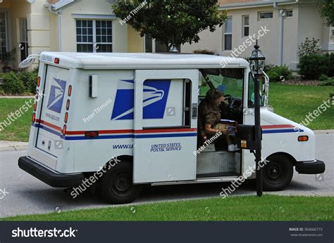 Us Postal Service Address Search Us Post Vehicle In Summerfield Florida Usa Circa 2014 United States Postal Service