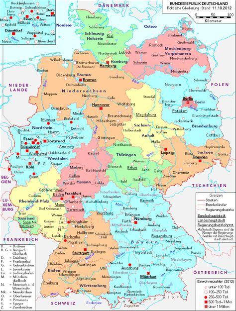 map german states modern german states vgs german sig