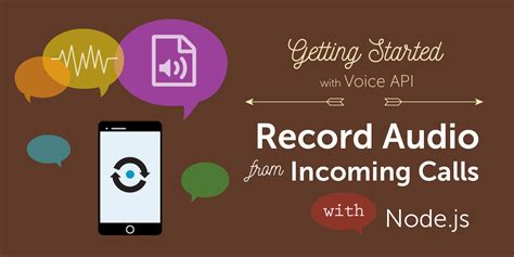 javascript tutorial audio how to record audio from incoming phone calls in node js