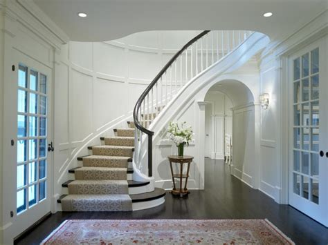 Georgian Stairs Design Georgian Rebirth Staircase Traditional Staircase Chicago By Burns And Beyerl Architects