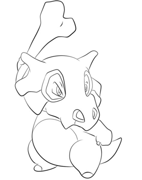 pokemon coloring pages natu cubone coloring page colouring yay pinterest
