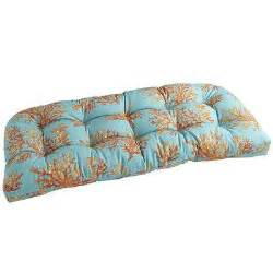Pier One Bench Cushions Pier One Coral Bench Cushion Coral Patio Gray Orange