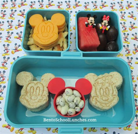 Mb 1030 Disney Stacked Cups 5 Pcs bento school lunches disney mickey minnie and friends bento