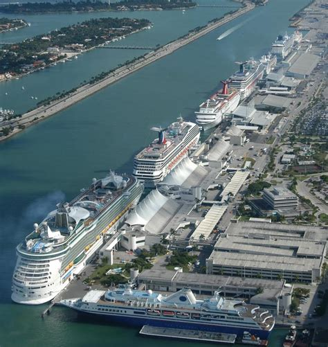 Car Rentals In Miami Port For Cruises by Port Of Miami Cruise News
