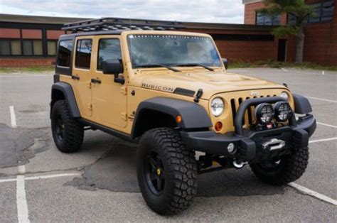 Jeep 827 3 Leather purchase used 2013 aev jeep wrangler rubicon jk350 low leather 3 6l 4x4 offroad like new