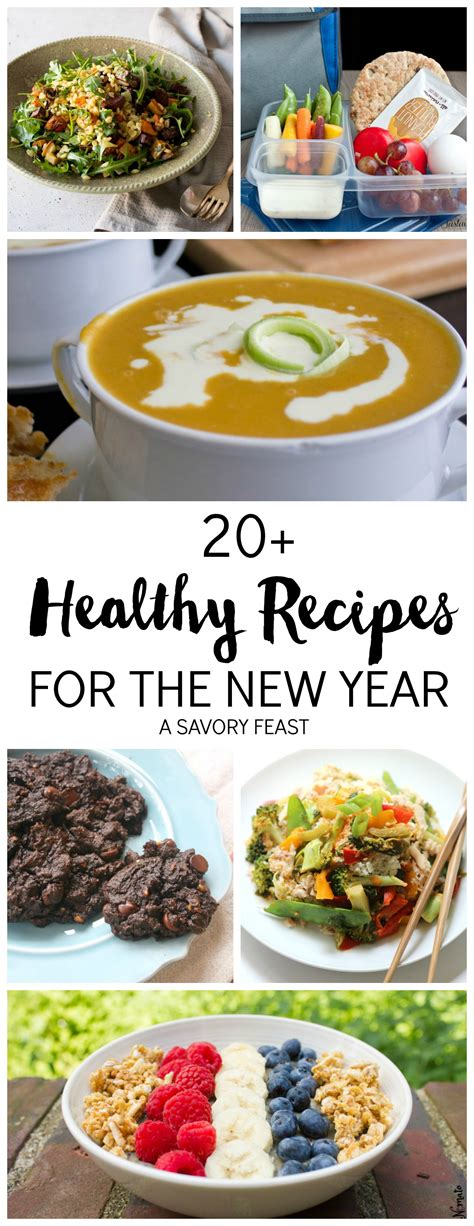 new year healthy recipes 20 healthy recipes for the new year