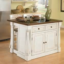 kitchen island styles home styles monarch 3 piece granite top kitchen island