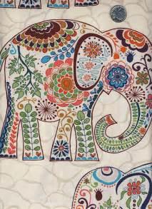 Script Bedding 1 Yard Valori Wells Karavan Marrakech Elephants By Viasplace
