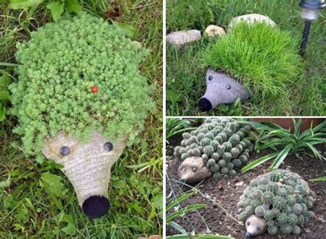 Diy Plastic Planter by Cool Creativity Diy Hedgehog Planter From Plastic