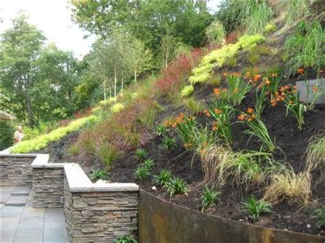 Steep Sloped Backyard Ideas by Critical Slope In Mercer Island Wa Is Repaired By
