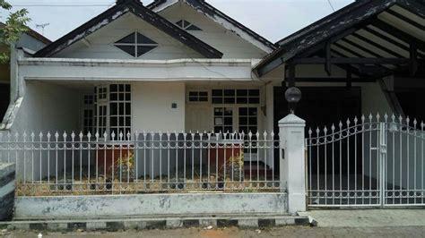 rumah row jalan lebar siap ditempati  nirwana eksekutif surabaya