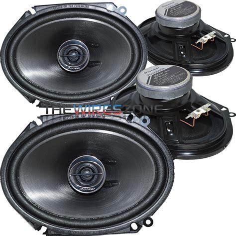 Speaker Subwoofer Pioneer 8 pioneer ts g6845r 2 way 6 quot x 8 quot or 5 quot x 7 quot 500w car speaker 2 pairs 6x8 5x7 ebay