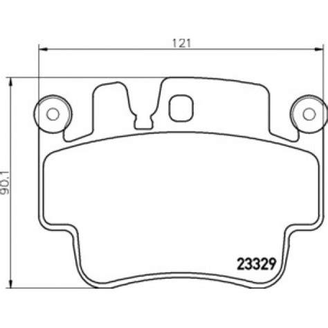 porsche boxster brake pads porsche 911 996 and boxster brake pads