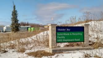 thunder bay garbage collection resumes after cbc