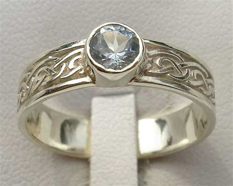 Scottish Wedding Rings by Made Celtic Rings For In The Uk