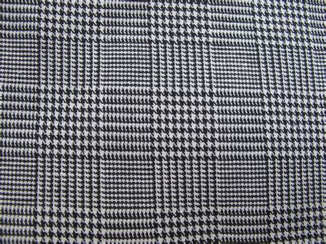black and white check upholstery fabric black and white houndstooth woven plaid fabric plaid remnant