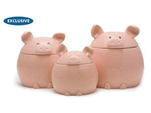 pig kitchen canisters 17 best images about gift giving ideas on