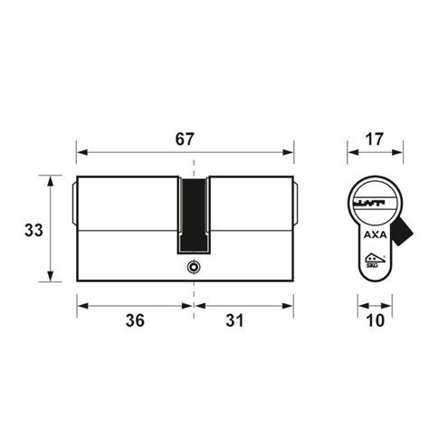 comfort security dubbele veiligheidscilinder comfort security verlengd 36