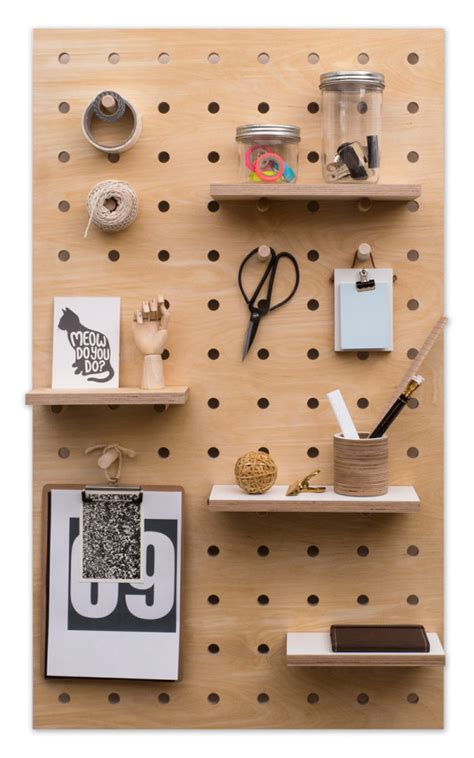 pegboard design peg it all pegboards by kreisdesign design milk