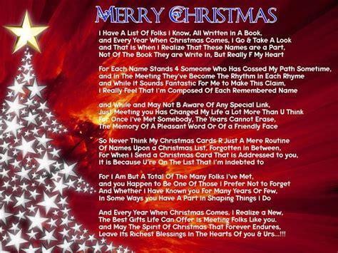 poetry christmas poem  friends  card merry christmas poems christmas poems