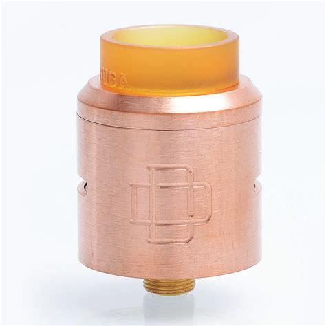 Authentic Rda Druga 24 26 99 authentic augvape druga rda copper 24mm rebuildable atomizer