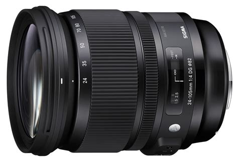 Specs Sigma sigma 24 105mm f 4 dg os hsm specifications and