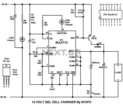 12v 10a battery charger circuit diagram popular circuits page 849 next gr