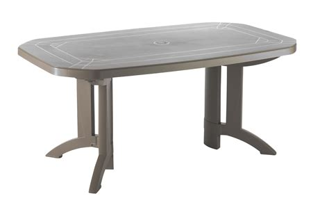 Impressionnant Table De Jardin Geant Casino #4: Tables-de-jardin-vega-220-165-cm-taupe-641.jpg