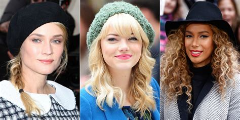 Hairstyles For Hats At Work by Best Hairstyles For Hats Hair Highlights