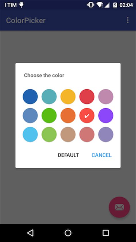 android color picker github kristiyanp colorpicker a simple color picker library for android