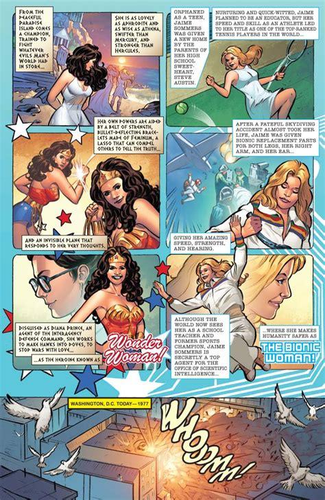 The Bionic Season Four Graphic Novel Ebooke Book 77 meets bionic comic book