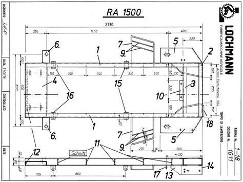 cabine lochmann per trattori tradizione lochmann costruzione rimorchi