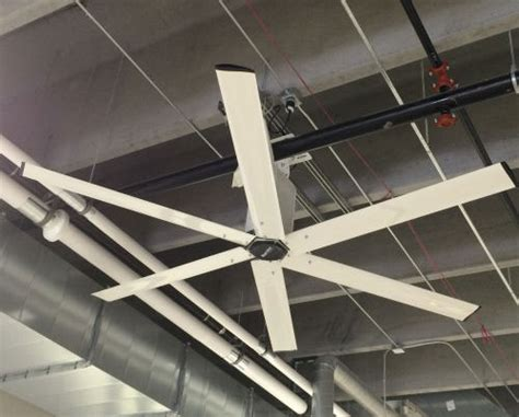 high volume low speed fans macroair commercial ceiling hvls fans serving mn wi nd