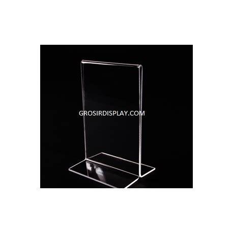 Akrilik Ukuran 34x20 Cm Tebal 3mm Grosir Akrilik Lembaran Acrylic akrilik tempat brosur a4 kaki tebal grosir display