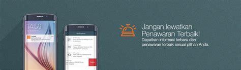 Catokan Samsung promo aplikasi android ios lazada co id