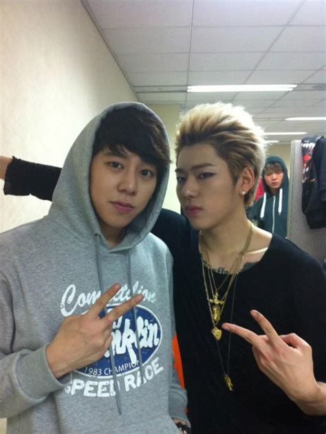 kim namjoon and zico speed s taewoon considers his brother block b s zico to be