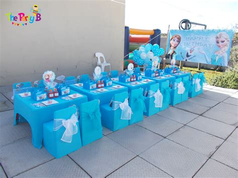 Home Decor Themes frozen themed party cape town the party b kids party
