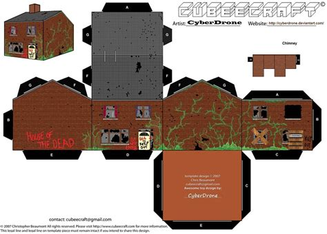 printable haunted house paper haunted house paper toy free printable papercraft templates