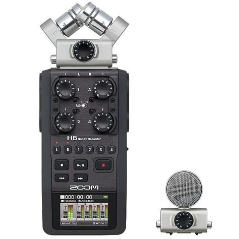 handy le zoom h6 handy recorder with cubase le 6 audio production