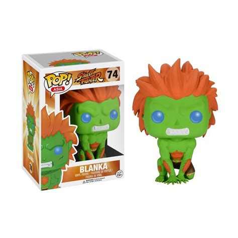 Original Funko Pop Fighter Blanka 74 funko pop fighter v blanka