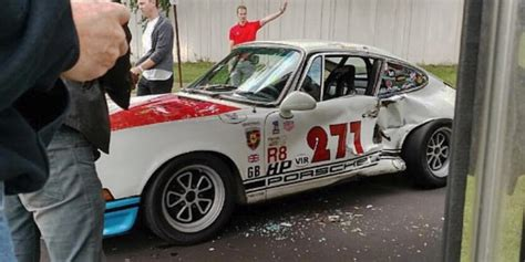 Magnus Walker Crashes An Outlaw Porsche 911 Motrolix