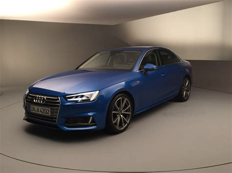 Information On Audi Audi Reveals U S Info On 2017 A4