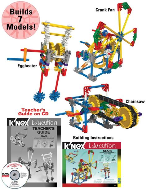 printable knex instructions free 17 best images about simple machines on pinterest bill