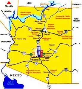 arizona travel map sanda kaufman s image collection apache trail